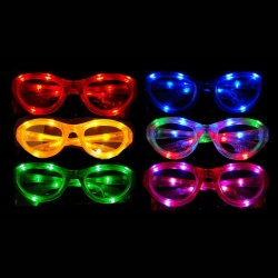 LED Flashing Sunglasses