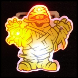 Flashing Mummy LED Pin