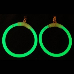 Glow Bangle Clip On Earrings