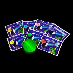 Glow Golf Ball & Sticks Packaged