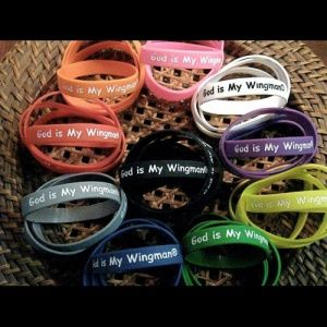 Silicone Awareness Bracelets Printed