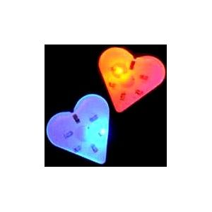 Flashing Heart LED Pins