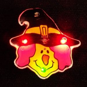 Flashing Witch LED Pin