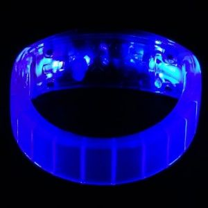 LED Light Up Bangle Bracelets Blue