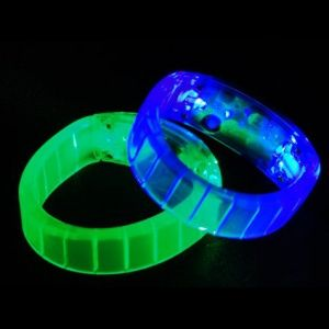 LED Light Up Bangle Bracelets