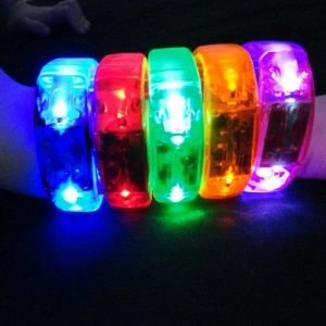 LED Light Up Bangle Bracelets All Colors