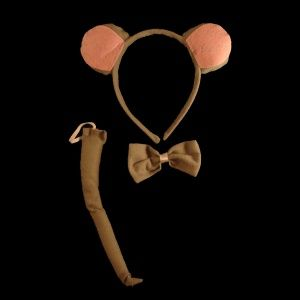 Mouse Animal Costume Headband Set
